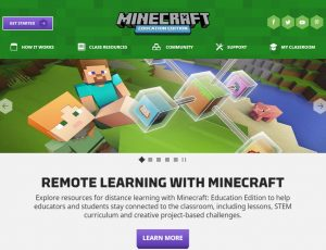 Minecraft Education Screenshot