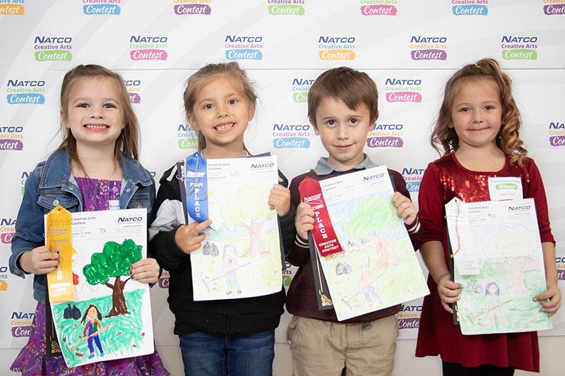 Kindergarted Creative Arts Contest Winners 2019