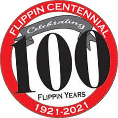 Flippin Centennial Logo